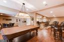Lower level recreation room- alt view - 17765 BRAEMAR, LEESBURG