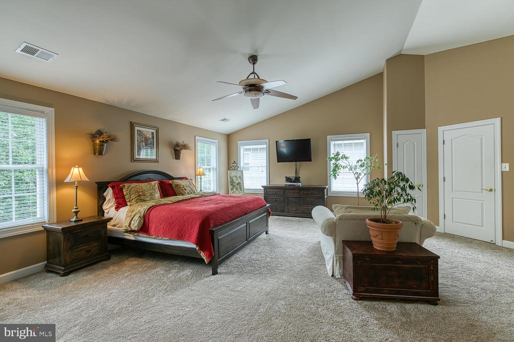 Grand Master Retreat w/ Vaulted Ceiling - 3 ETERNITY CT, STAFFORD