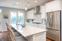 Open gourmet kitchen - 3504 11TH ST S, ARLINGTON
