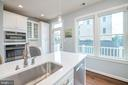 White silestone quartz countertops - 3504 11TH ST S, ARLINGTON