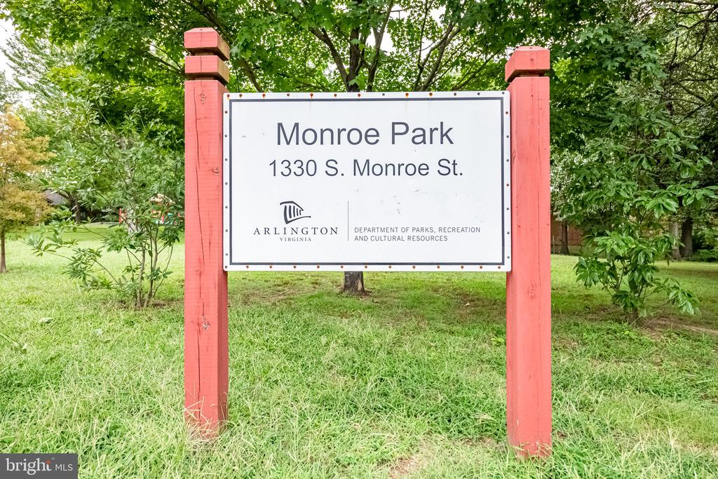 Nearby Monroe Park - 3504 11TH ST S, ARLINGTON