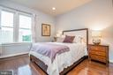 4th level queen bedroom with full bath ensuite - 3504 11TH ST S, ARLINGTON