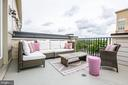 Spacious 4th level deck for entertaining - 3504 11TH ST S, ARLINGTON