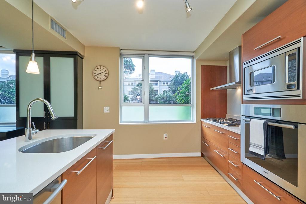 Well-lit kitchen - 12025 NEW DOMINION PKWY #G-118, RESTON