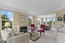 Living/Dining Room with majestic views - 43264 HEAVENLY CIR, LEESBURG