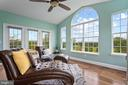 Sunroom 2 level Addition with Vaulted Ceilings - 43264 HEAVENLY CIR, LEESBURG