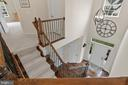 Open Stair case to the upper level - 43264 HEAVENLY CIR, LEESBURG