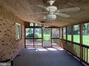 Inside porch - 8 WOODROW DR, STAFFORD