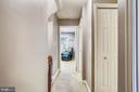 Hall view to bedroom #3 - 1176 N UTAH ST, ARLINGTON