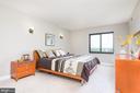 Large master bedroom with tons of light - 205 YOAKUM PKWY #1818, ALEXANDRIA