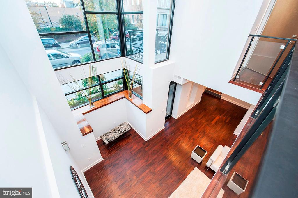 Main Level can be Opened to Terrace Level - 1931 12TH ST NW #A, WASHINGTON