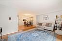 Living Room - Hardwood Floors, Soft Gray Paint - 8486 SPRINGFIELD OAKS DR, SPRINGFIELD