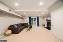 Family Room Boasts Recess Lighting - 8486 SPRINGFIELD OAKS DR, SPRINGFIELD