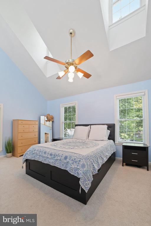 Master Bedroom - Vaulted, Cathedral Ceiling! - 8486 SPRINGFIELD OAKS DR, SPRINGFIELD