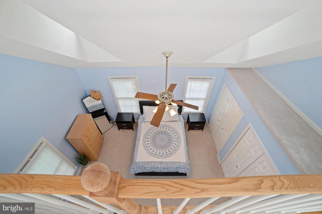 View from Loft Looking Down to Master Bedroom - 8486 SPRINGFIELD OAKS DR, SPRINGFIELD