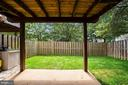 Fully Fenced In Back Yard - 8486 SPRINGFIELD OAKS DR, SPRINGFIELD