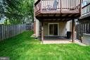 Spacious, Usable Back Yard with New Grass - 8486 SPRINGFIELD OAKS DR, SPRINGFIELD