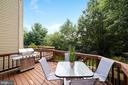 Deck - A Great Option for Relaxing or Entertaining - 8486 SPRINGFIELD OAKS DR, SPRINGFIELD
