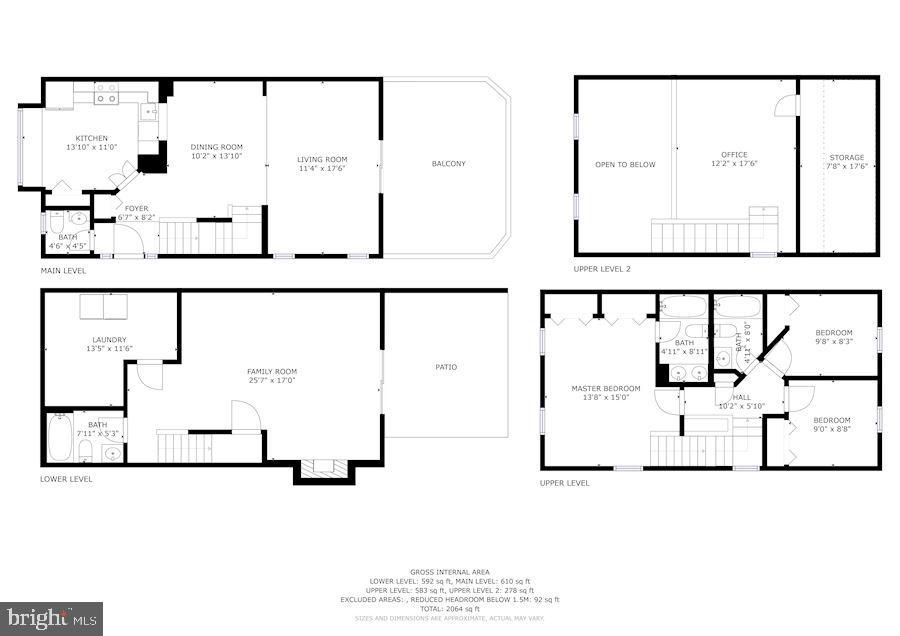 Floor Plans - Combined - 8486 SPRINGFIELD OAKS DR, SPRINGFIELD