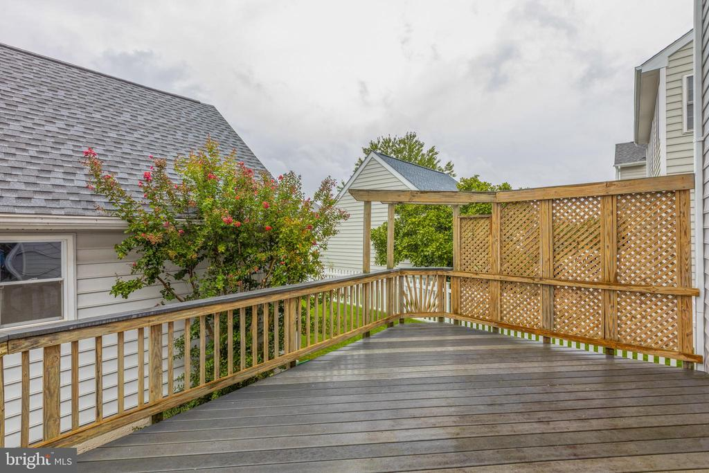 Very private outdoor space! - 43058 BARONS ST, CHANTILLY