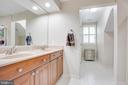 Dual comfort height vanity in master bath - 1 NEW BEDFORD CT, STAFFORD