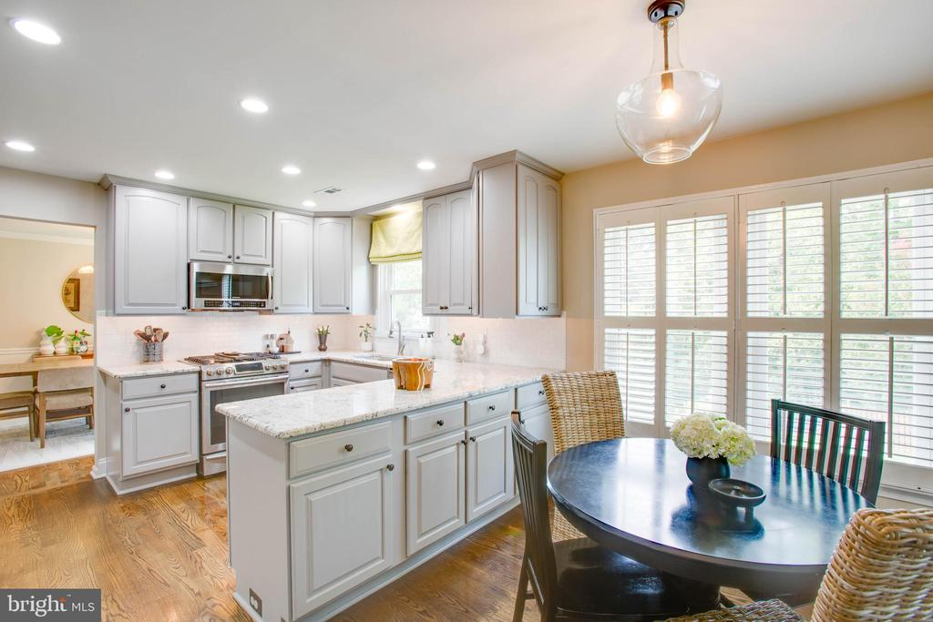 Recessed lighting throughout the home - 1 NEW BEDFORD CT, STAFFORD