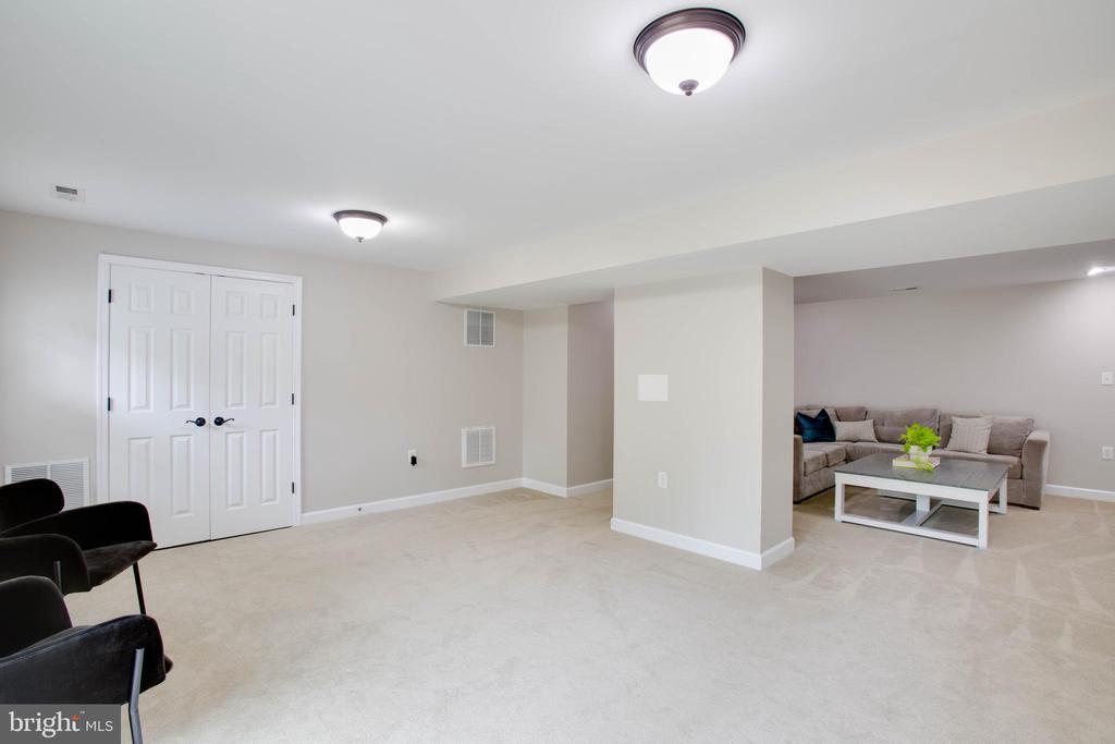 Storage closets, plus bonus sub-basement storage - 1 NEW BEDFORD CT, STAFFORD