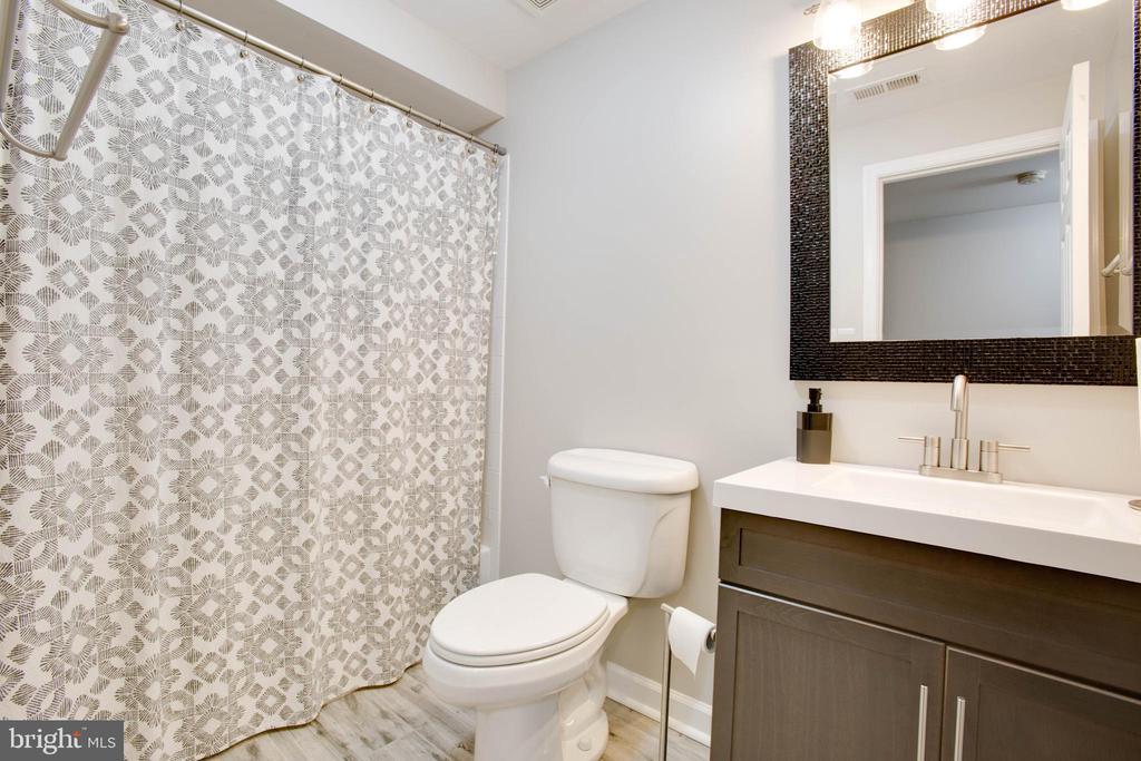 Full bathroom on basement level -updated 2016 - 1 NEW BEDFORD CT, STAFFORD