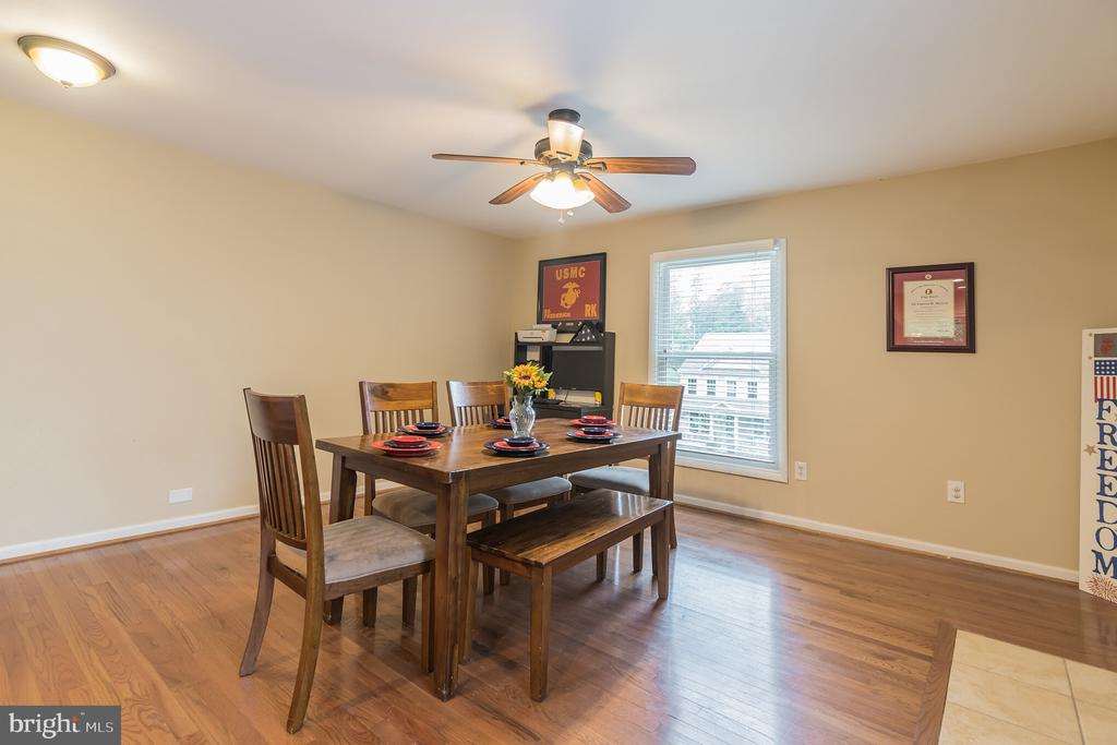 Use this as a dining or family room - 19133 WINDSOR RD, TRIANGLE