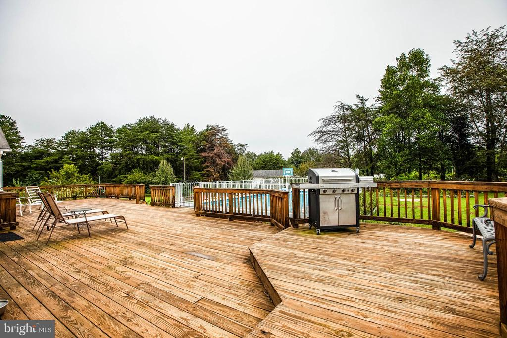 Large Deck with 1,466 Square Feet - 1546 W OLD MOUNTAIN RD, LOUISA