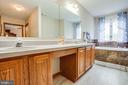Master Bathroom with Dual Vanity Sink, Soaking Tub - 1546 W OLD MOUNTAIN RD, LOUISA