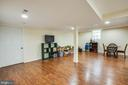 Basement Family Room - 1546 W OLD MOUNTAIN RD, LOUISA