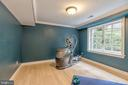 Entry level Bedroom Three/Bonus Room - 3629 ALBEMARLE ST NW, WASHINGTON