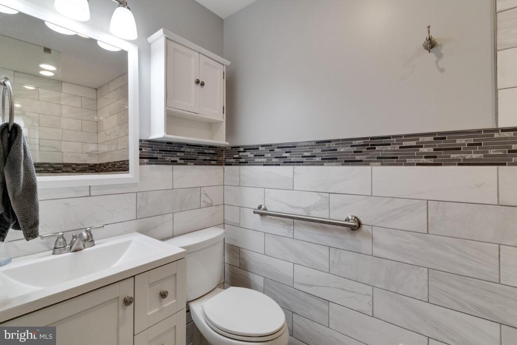 Main floor half bath coverted to full bath in 2018 - 13613 BETHEL RD, MANASSAS