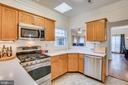 Under cabinet lighting - 5502 VILLAGE CENTER DR, CENTREVILLE