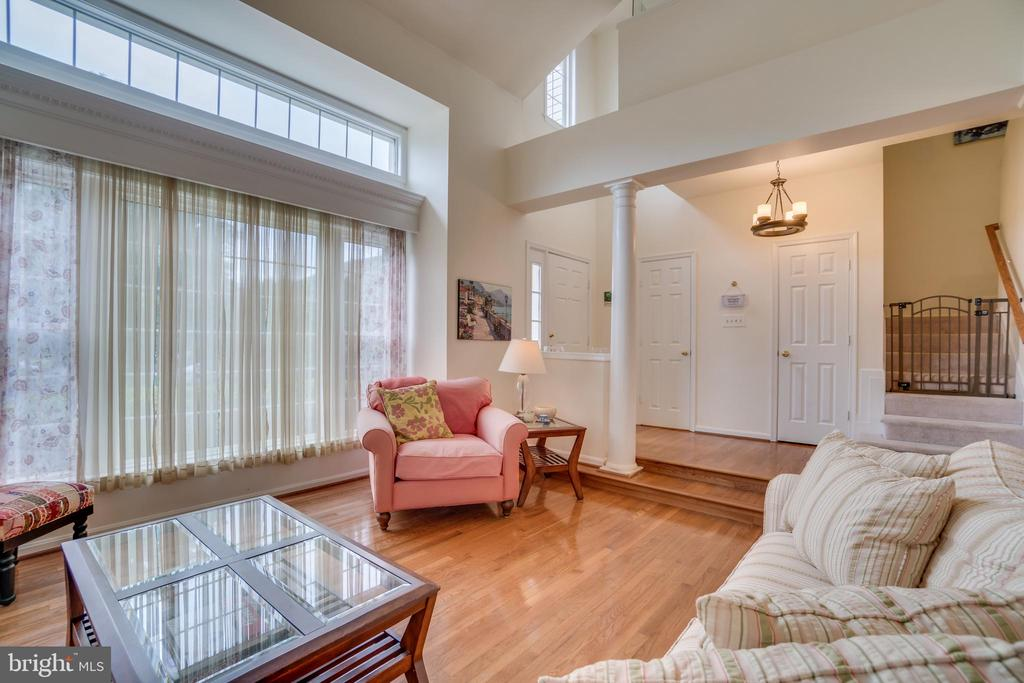 Tons of natural light - 5502 VILLAGE CENTER DR, CENTREVILLE