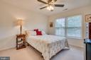 Secondary bedroom - 5502 VILLAGE CENTER DR, CENTREVILLE
