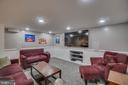 Tons of recessed lighting - 5502 VILLAGE CENTER DR, CENTREVILLE