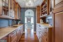 Fully Equipped Butler's Pantry - 17814 RUNNING COLT PL, LEESBURG