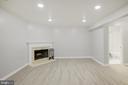 luxury vinyl floor just installed - 43473 PLANTATION TER, ASHBURN