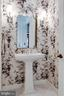 Half Bath on Main Level off Living Room and Foyer - 17814 RUNNING COLT PL, LEESBURG
