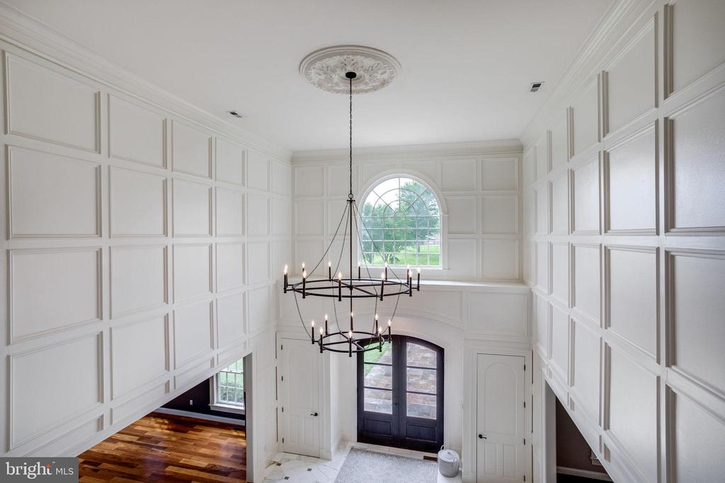 View from Second Level Looking onto Foyer - 17814 RUNNING COLT PL, LEESBURG