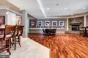 Entertainment Area and Game Room with Full Kitchen - 17814 RUNNING COLT PL, LEESBURG