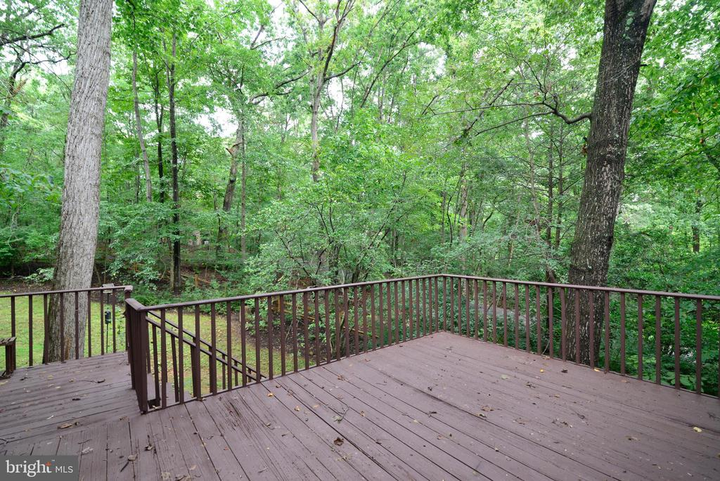 Stairs to the backyard - 11137 GLADE DR, RESTON