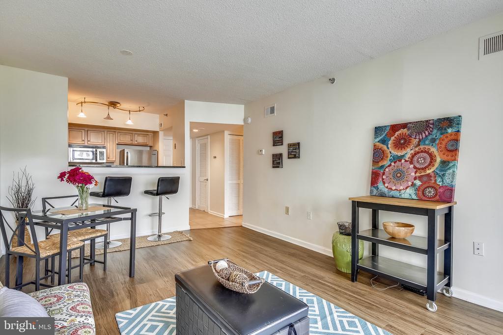 Hardwood Floors! - 1001 N RANDOLPH ST #417, ARLINGTON