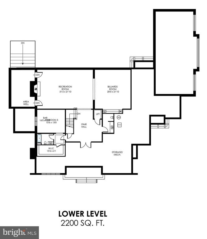 Finished basement is offered as an upgrade option. - 7008 BENJAMIN ST, MCLEAN