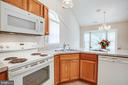 Newer appliances - 11717 COLLINWOOD CT, FREDERICKSBURG