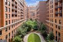 View from Balcony - 616 E ST NW #602, WASHINGTON