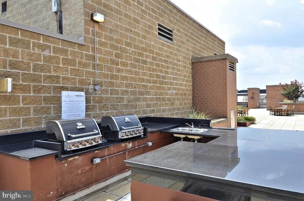 Rooftop BBQ Grills - 616 E ST NW #602, WASHINGTON
