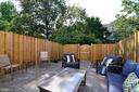 New fence & stamped concrete patio! - 45067 FELLOWSHIP SQ, ASHBURN